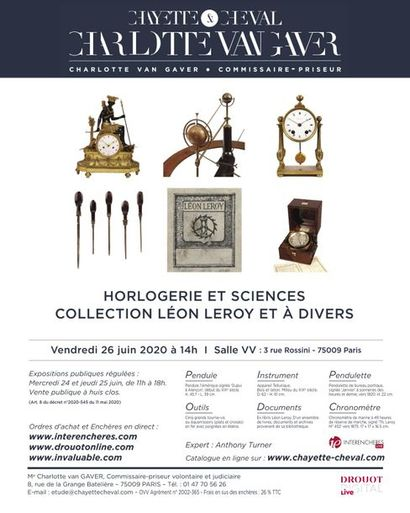 WATCHMAKING AND SCIENCE-COLLECTION LEON LEROY AND A VARIOUS