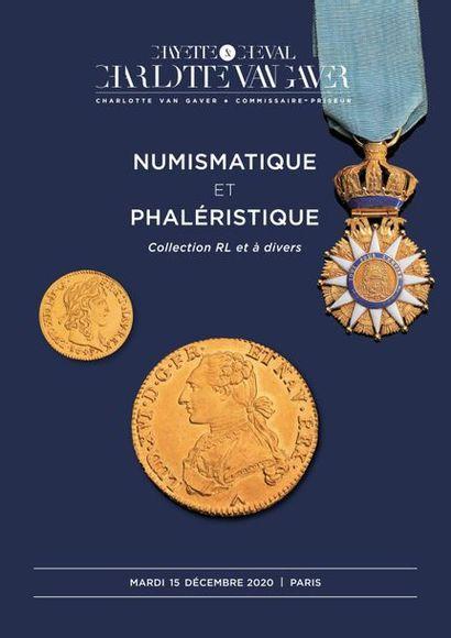 NUMISMATIQUE ET PHALERISTIQUE: Collection RL et à divers
