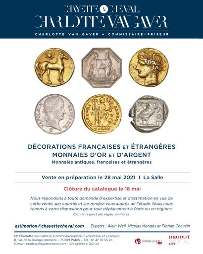 NUMISMATIQUE - MEDAILLES ET DECORATIONS - EN PREPARATION
