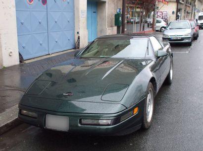 Vente d'un Coupé Corvette Chevrolet