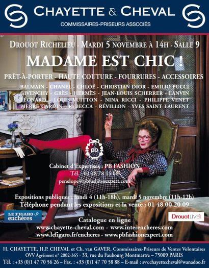 MADAME EST CHIC! - MODE VINTAGE & CONTEMPORAINE