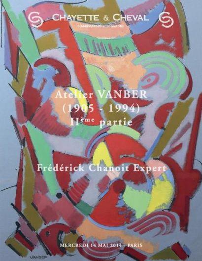 ATELIER d'ARTISTE - ALBERT VOISIN dit VANBER