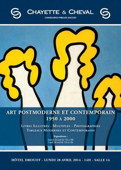 ART POST-MODERNE et CONTEMPORAIN 1950 à 2000