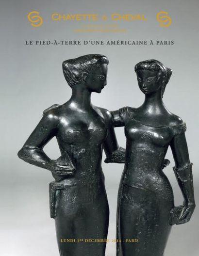 LE PIED A TERRE D'UNE AMERICAINE A PARIS