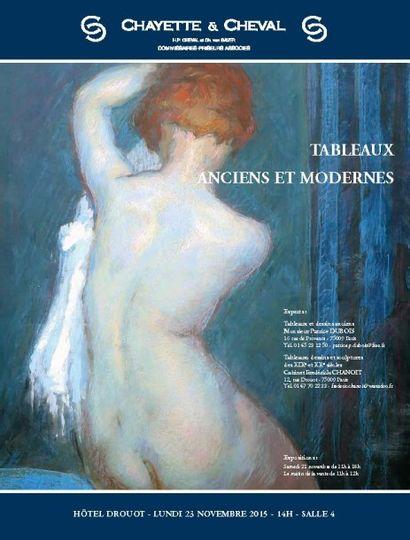TABLEAUX ANCIENS, XIXème s. et MODERNES