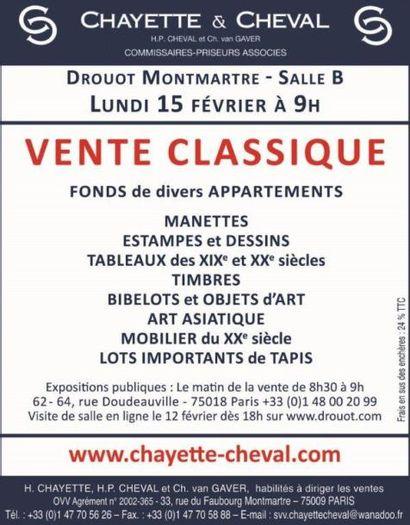 VENTE CLASSIQUE-