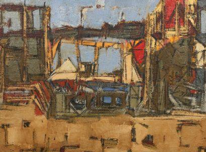 Vente à 11h et 14h : deux ateliers d'artistes figuratifs et abstraits : Denyse Louis et Jean Besnard