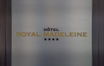 Entier mobilier de l'Hôtel Royal Madeleine à Paris
