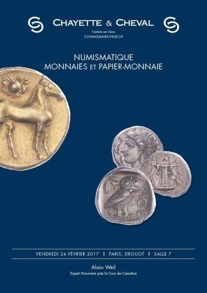 Numismatique - médailles et papier - monnaies