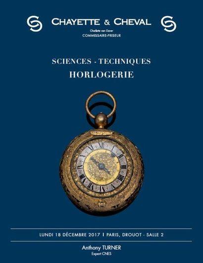 SCIENCES - TECHNIQUES - HORLOGERIE