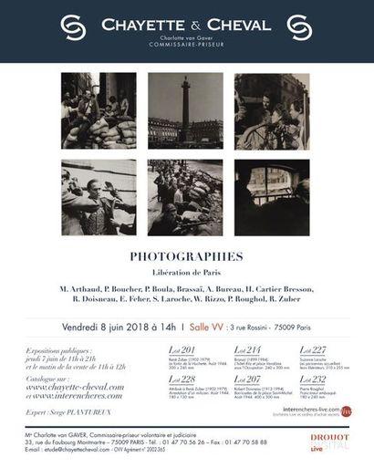 DESSINS et GRAVURES dont fonds G. Engelmann et à divers - PHOTOGRAPHIES, dont fonds R. ZUBER et à divers