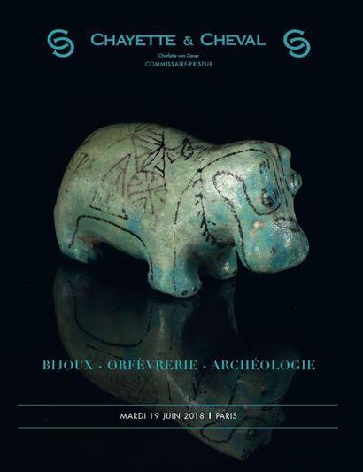 BIJOUX- OBJETS DE VITRINE - ORFEVRERIE- ARCHEOLOGIE