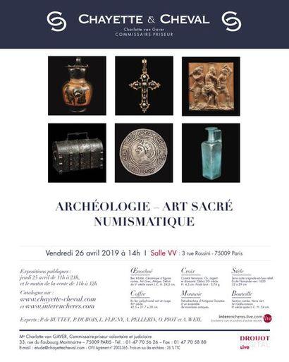 ARCHÉOLOGIE - NUMISMATIQUE - ART SACRÉ