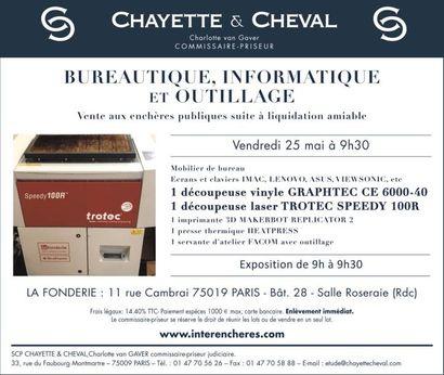 BUREAUTIQUE-INFORMATIQUE ET OUTILLAGE