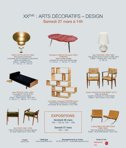 XXe : Arts décoratifs-design #1