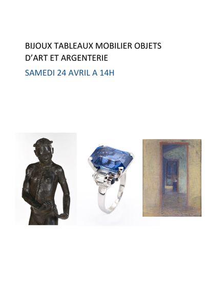Bijoux - tableaux - mobilier et objets d'art