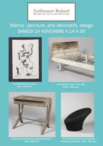 XXème : peinture, arts décoratifs et design