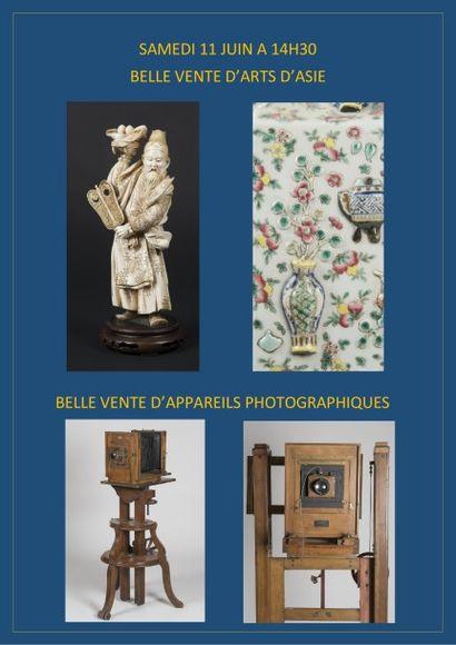 Arts d'Asie et appareils photographiques