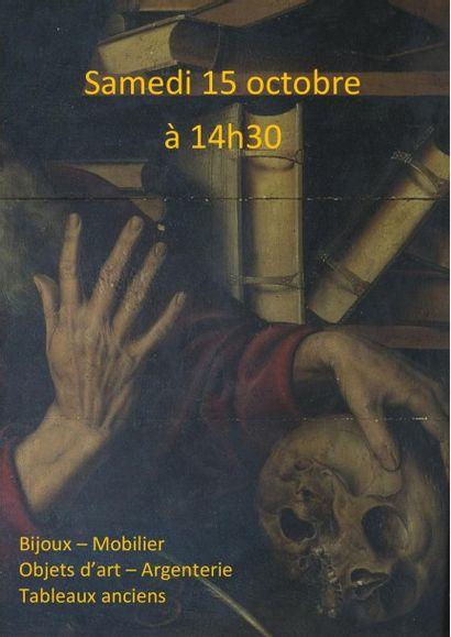 MOBILIER - OBJETS D'ART - TABLEAUX ANCIENS - ARGENTERIE