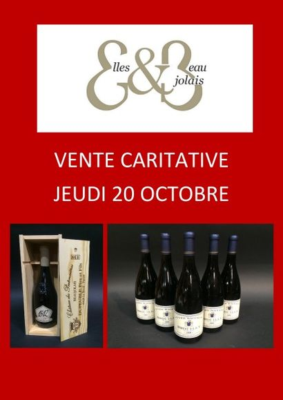 Vente de vins caritative à Villefranche sur Saône