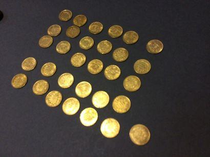 Vente de pièces d'or et d'argent et timbres