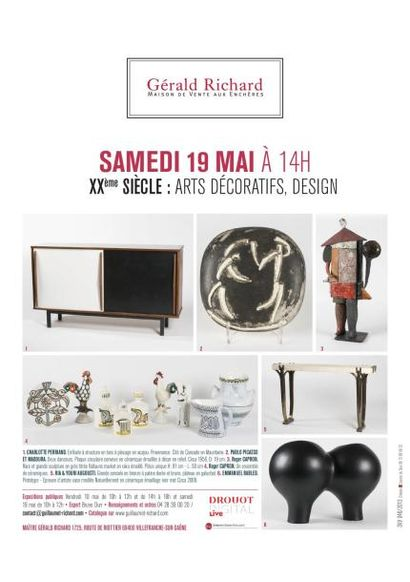 XXème: arts décoratifs - design