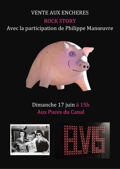 ROCK STORY avec la participation de Philippe MANOEUVRE