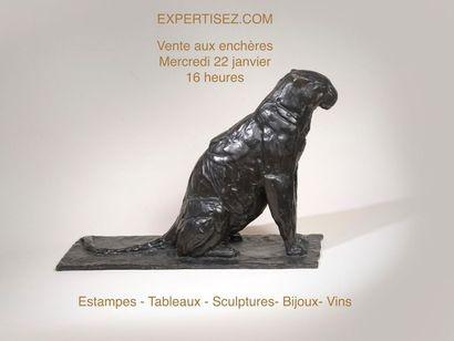 Tableaux, estampes, sculptures, bijoux, vins