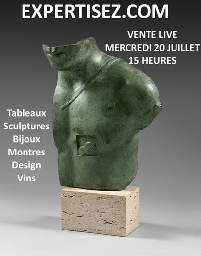 Tableaux, sculptures, bijoux, montres, design, vin