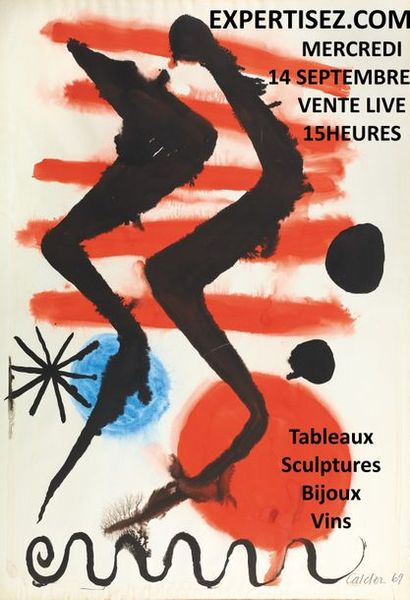 Tableaux, sculptures, bijoux, vins