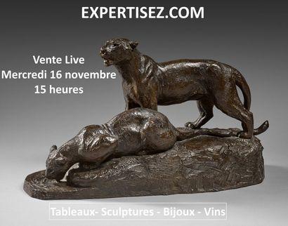 Tableaux, sculptures, photos, bijoux, vins