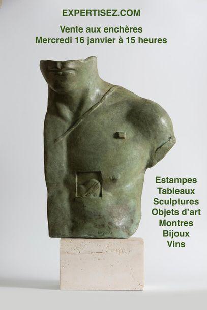 Tableaux sculptures bijoux vins