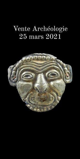 Vente Arts du Monde, Archéologie et Antiquités MAINTENUE