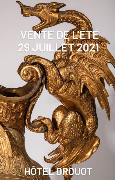 ~ Belle vente de l'été ~ Collections particulières, Objets de curiosité, Grande décoration, Mobiliers Objets d'Art