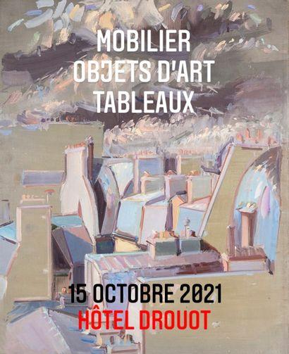 Un intérieur parisien - Belle vente Art moderne et contemporain, Mobilier classique, Design, Tapis