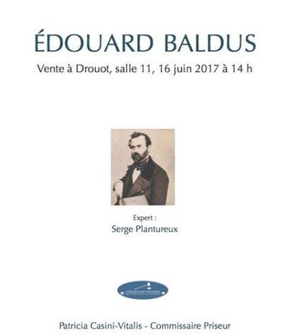 Vente Baldus : Le mystère de Mr Edouard Baldus