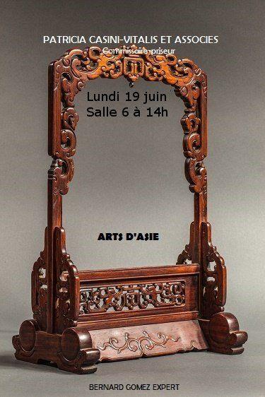 VENTE D'ART D'ASIE