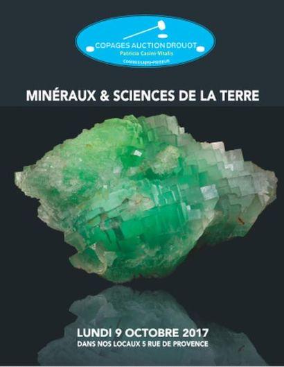 minéraux et sciences de la terre