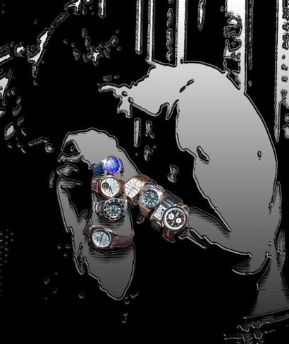 Montres, Bijoux, Mobilier Design, Maroquinerie, Haute couture homme, Motos Harley Davidson