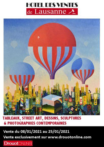 Tableaux, street art, dessins, sculptures & photographies contemporaines - Tableaux et dessins XIXe et XXe siècles