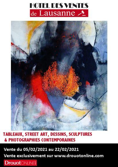 Tableaux, street art, dessins, sculptures & photographies contemporaines
