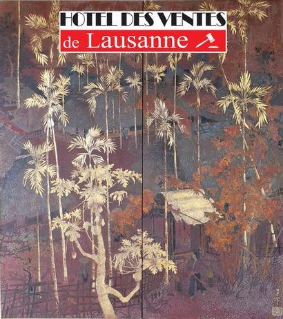 ART D'ASIE, TABLEAUX MODERNES ET CONTEMPORAINS,  ART INDIEN, ART 1900, LIVRES, AFFICHES