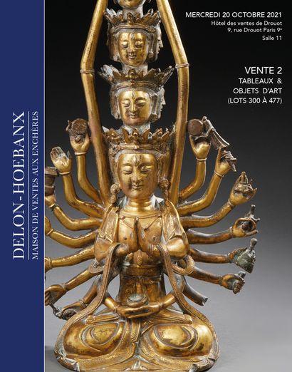 ART D'ASIE : TABLEAUX - OBJETS D'ART - VENTE 2