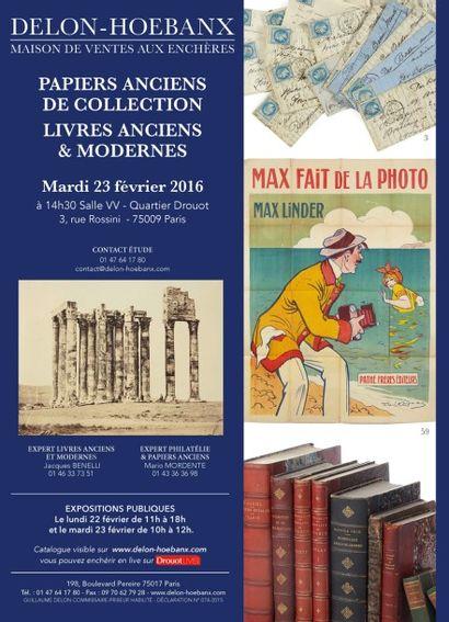 Livres anciens et modernes, Vieux papiers, Photos anciennes, Estampes, Timbres