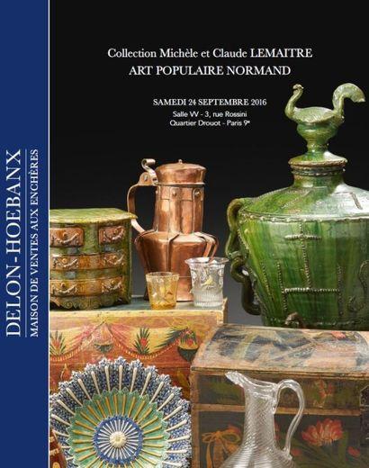 Collection Michèle et Claude LEMAITRE : Art populaire Normand