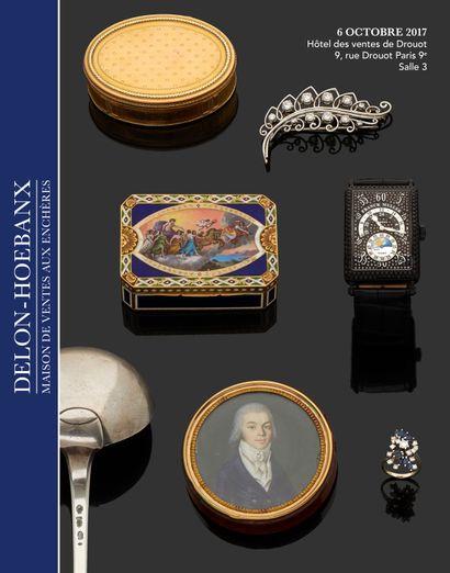 Bijoux, horlogerie, objets de vitrine, orfèvrerie