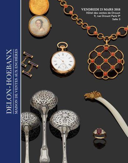 Bijoux, orfèvrerie, collection de miniatures de Feu Madame Jerusalmy, éventails, objets de vitrine et de collection, numismatique.