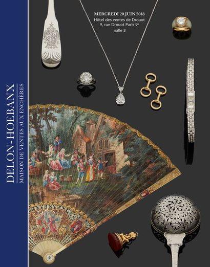 Vente à 11h15 et 13h30 : Éventails - Bijoux, montres, objets de vitrine, orfèvrerie