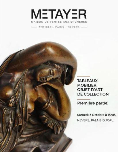 TABLEAUX, MOBILIER, OBJETS D'ART ET DE COLLECTION - PREMIERE PARTIE