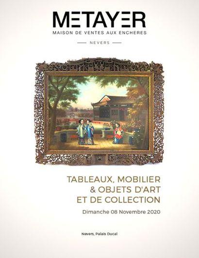 [VENTE MAINTENUE]  TABLEAUX, MOBILIER ET OBJETS D'ART, DEUXIÈME PARTIE
